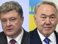 Порошенко и Назарбаев обсудили торгово-экономическое сотрудничество стран