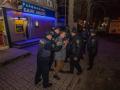 В Днепре возле банка напали на инкассаторов