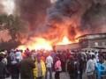 В Кении при пожаре на рынке погибли 15 человек