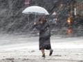 В Японии из-за снегопада погибла женщина