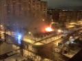В Киеве на Березняках горело здание