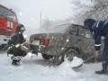 Спасатели освободили из снежных заносов около трех тысяч машин