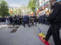 В Кишиневе пострадали 14 полицейских в столкновениях на митинге