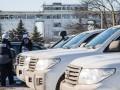 В Авдеевке заметили фейковый автомобиль ОБСЕ