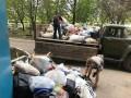 Шесть ЗИЛов мусора вывезли из квaртиры в Кропивницком
