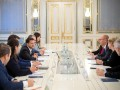 Зеленский встретился с представителями миссии МВФ