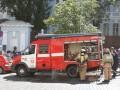В Киеве горел склад на Рыбальском острове