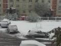 В России выпал последний летний снег