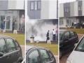 В Польше полицейский участок подожгли
