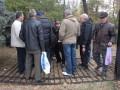 Протестующие снова сломали забор и прорвались к зданию Рады