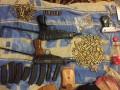 У трех киевлян изъяли внушительный арсенал оружия