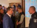 Львовскую ОГА штурмовали протестующие: Требуют отставки главы Нацполиции области