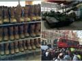 День в фото: обувь для солдат, танки для десантников и хаос в Лондоне