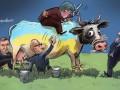 Аваков против Саакашвили: реакция соцсетей