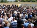 В Виннице произошла массовая драка из-за кладбища