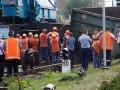 Под Днепром поезд сошел с рельсов