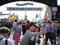 В Мюнхене открылся фестиваль пива Октоберфест
