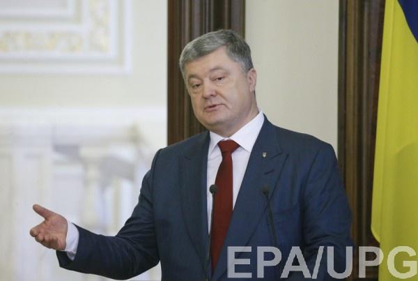 Порошенко не признает выборов в Крыму
