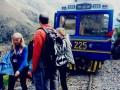 Два туристических поезда столкнулись в Перу