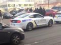Фейковые копы: В Киеве поймали псевдо-полицейский Mustang