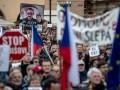 В Чехии прошли антиправительственные митинги