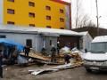 Под Житомиром ветер снес крышу магазина: Мать погибла, дочь в реанимации