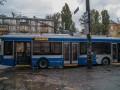 В Днепре парни обстреляли маршрутку и два троллейбуса