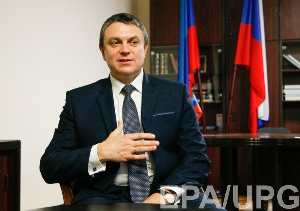 Леонид Пасечник открыто признает помощь Кремля