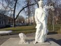 В Киеве вандалы повредили памятник Данте Алигьери