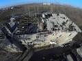 В Донецке после обстрелов уничтожен рынок и разрушены жилые дома