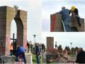 В Польше националисты разрушили памятник УПА