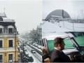 День в фото: Арка над ЧАЭС, снег в Киеве и Гройсман за штурвалом самолета