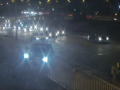 В Киеве авто упало с моста: полиция показала видео