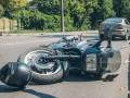 В Киеве на Печерске Skoda сбила девушку на мотоцикле