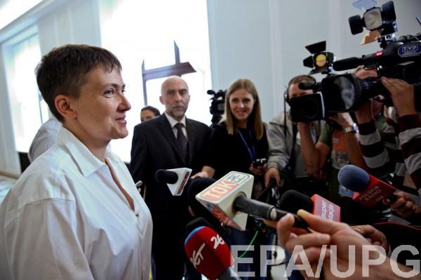 Она подтвердила встречу стеррористами— СБУ допросила Савченко