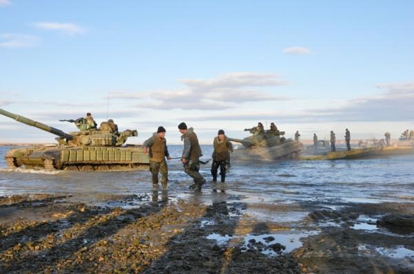 ВМС Украины провели масштабные учения под Одессой