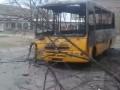 Появилось видео сожженных автомобилей в Константиновке