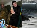 День в фото: Савченко в АТО, шторм в Австралии и столкновение поездов в Бельгии