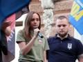 В Одессе лидер Правого сектора призвала