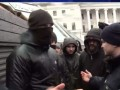 На Майдане произошла драка между сторонниками и противниками сноса палаток