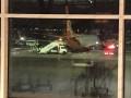 В Египте загорелось шасси у самолета из Украины