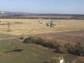 Украинские вертолеты пролетели над зоной АТО на сверхмалой высоте