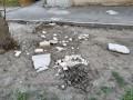 В Одессе с высотки обрушились куски фасада