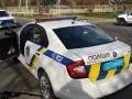В Киеве патрульное авто сбило мотоциклиста