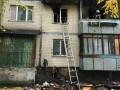 В Киеве произошел пожар в многоэтажке, погиб мужчина
