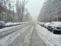 Киев заметает снегом: фото настоящей зимы в столице
