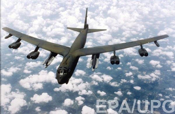 Бомбардировщики РФ перехватили бомбардировщики США