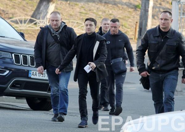 Охранники Зеленского попали в скандал