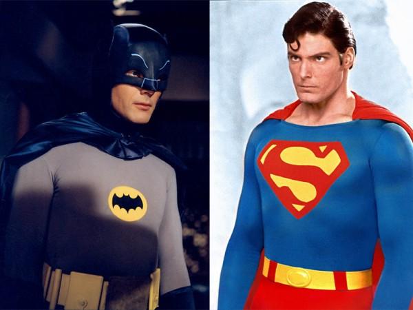 Бэтмен против Супермена: ретро-пародия