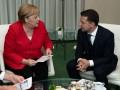 Зеленский и Меркель обсудили подготовку к саммиту